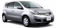 nissan note rent a car